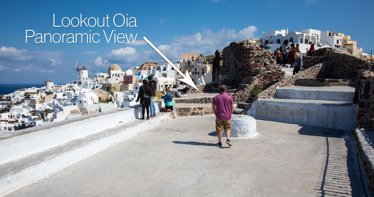 Lookout Oia Panoramic Viewpoint