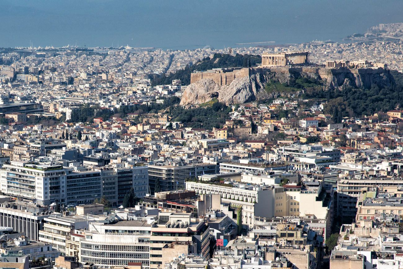 Lycabettus Hill View