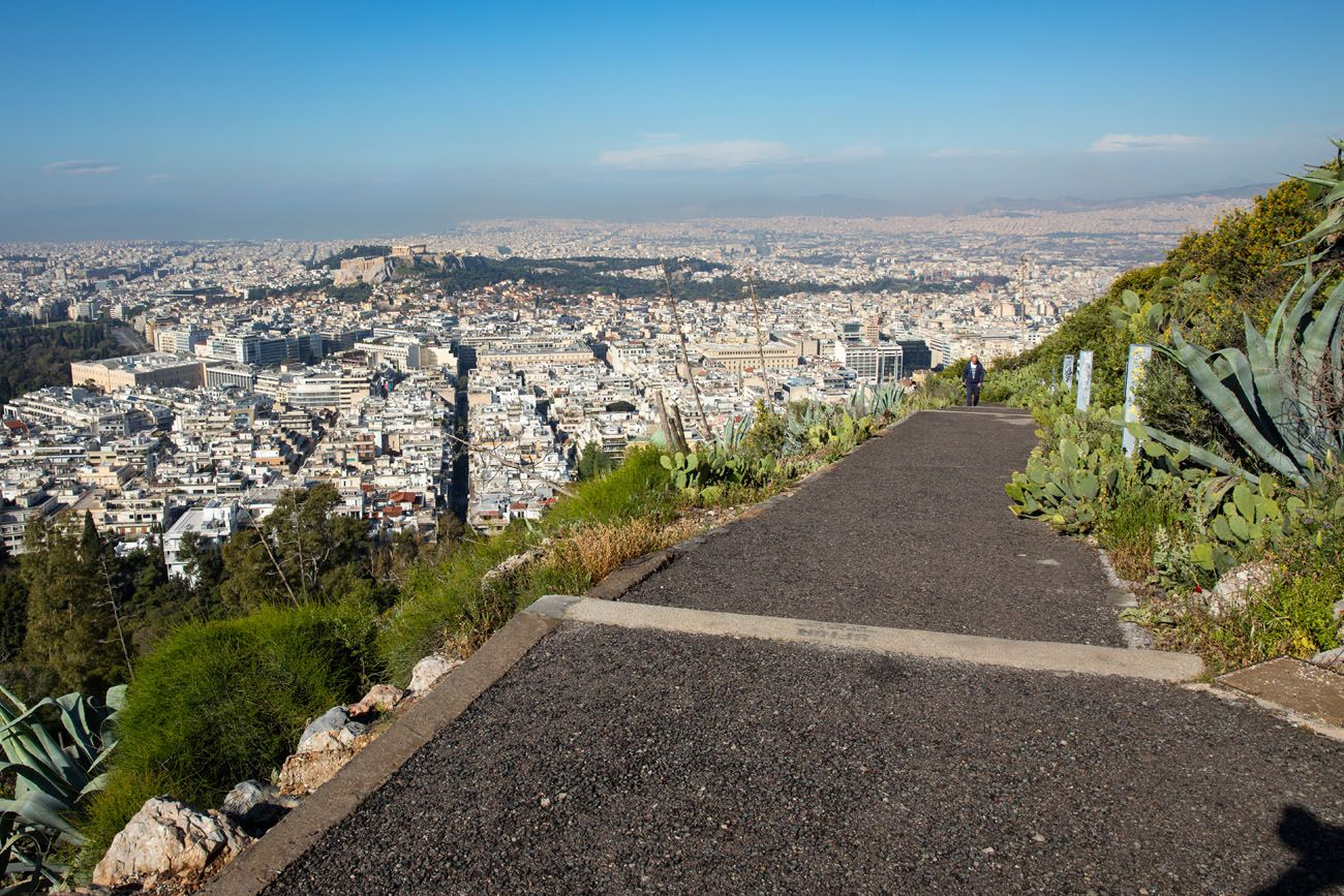 Lycabettus Hill Walking Path