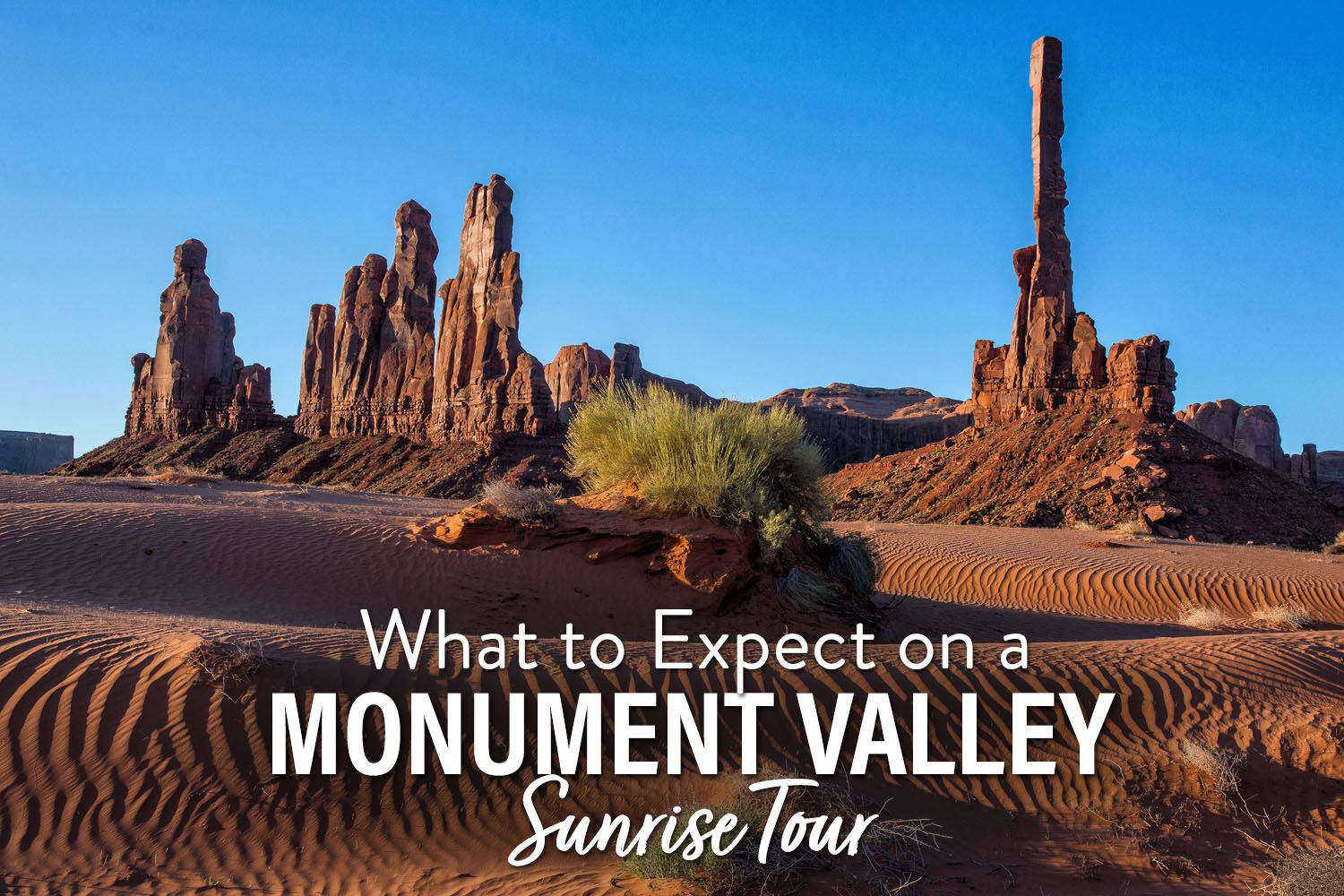 Monument Valley Sunrise Tour