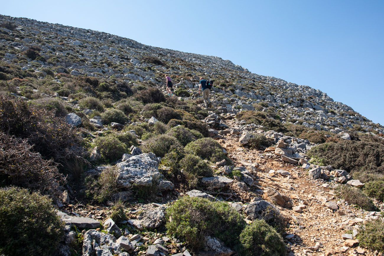 Mount Zas Hiking Trail