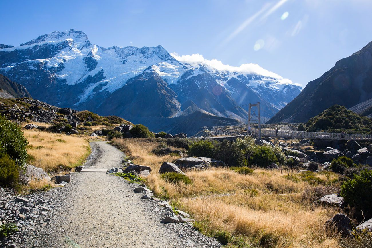 Mt Cook Track New Zealand itinerary