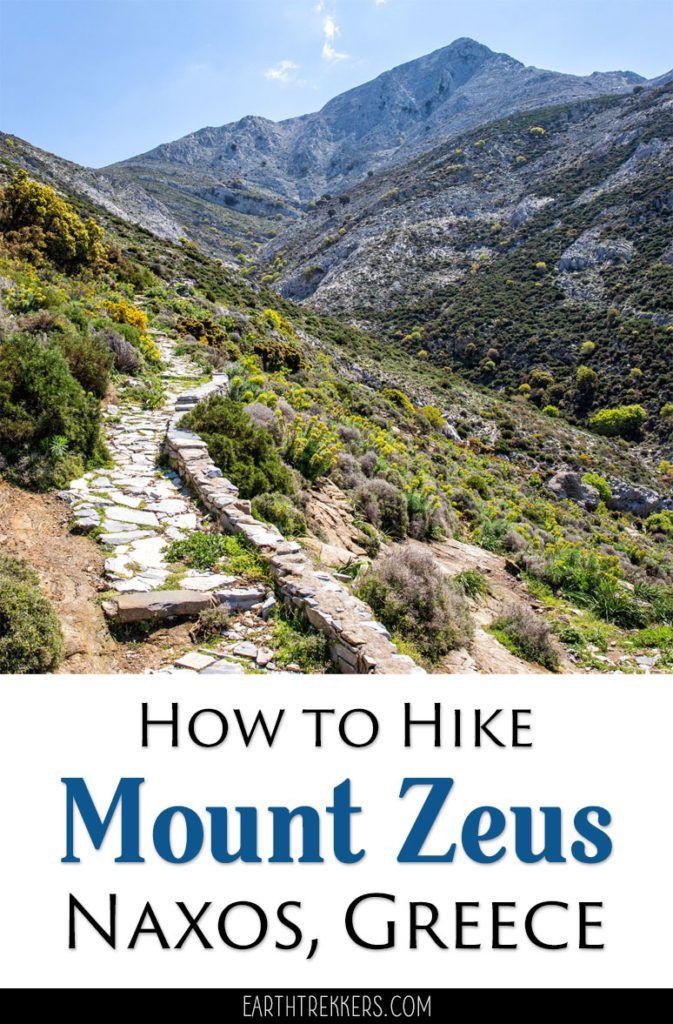 Naxos Greece Mount Zeus Hike