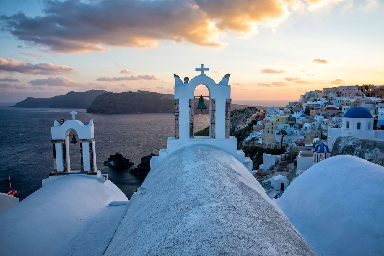 Santorini Sunset Point