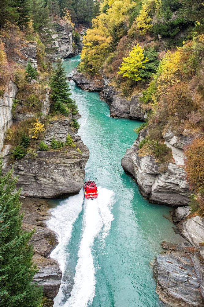 Shotover Jet New Zealand itinerary
