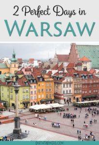 Warsaw Poland Itinerary