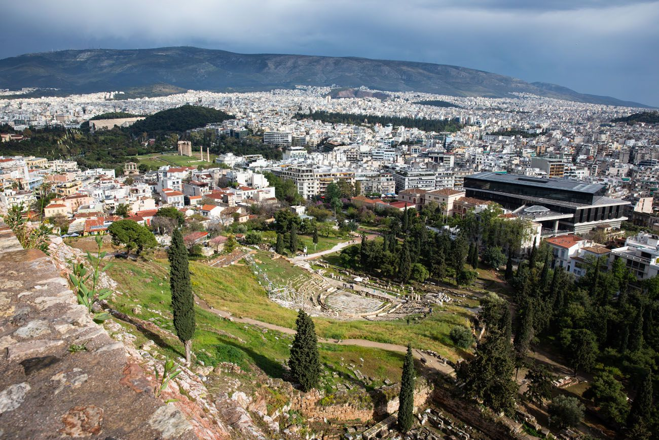 Acropolis Slopes