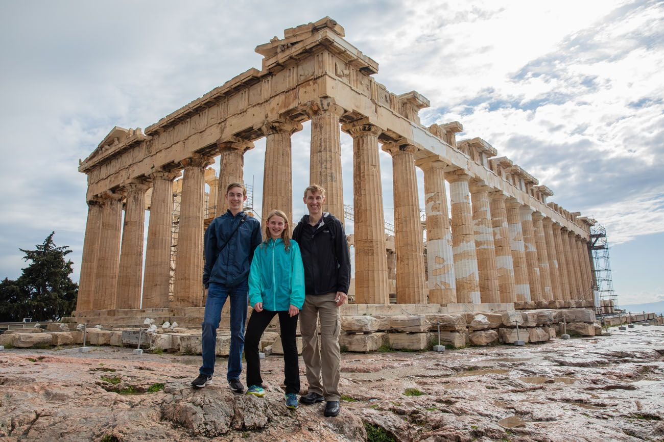 Acropolis without the Crowds