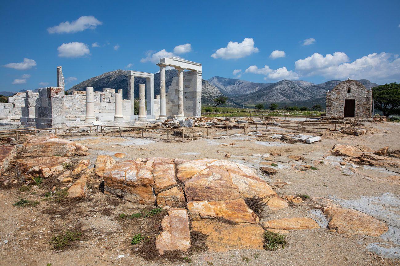 Demetra Temple Naxos