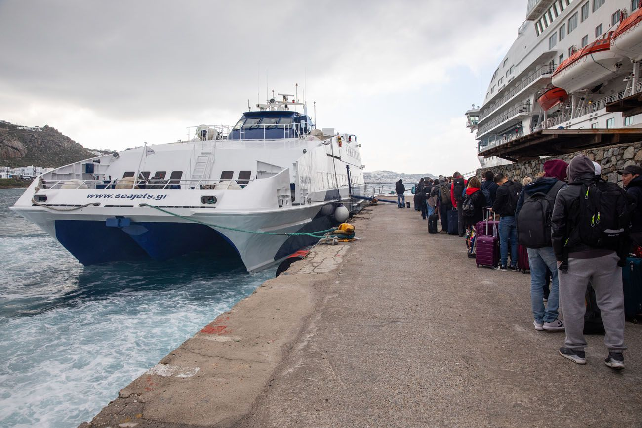 Ferry Line Greece Travel Tips
