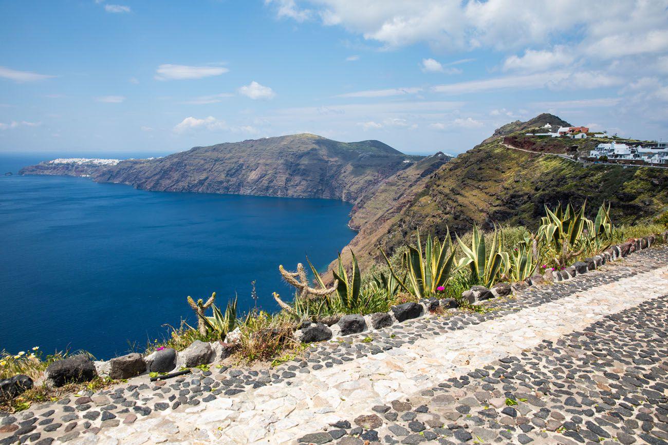 Fira to Oia Walk Santorini