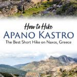 Hike Apano Kastro Naxos Greece