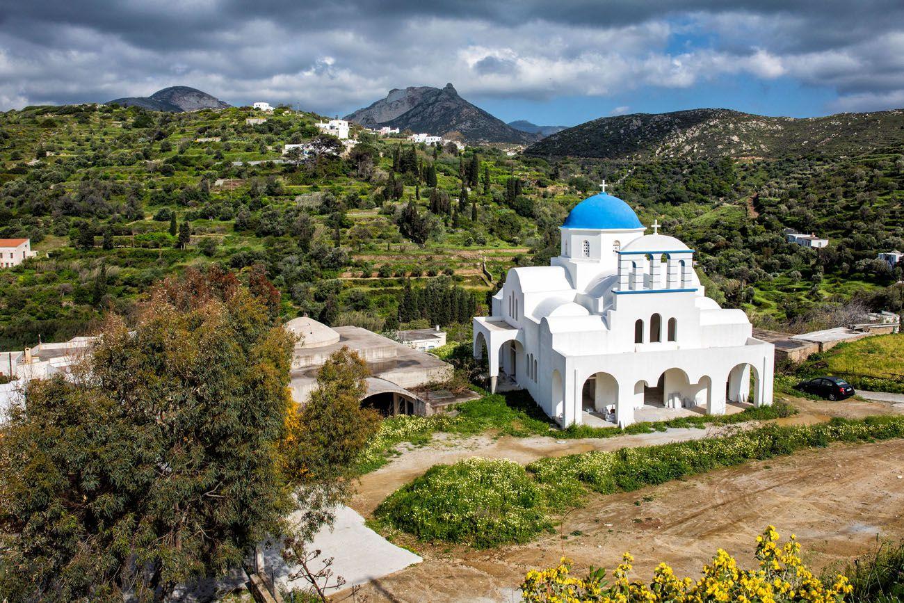Hike Naxos Greece