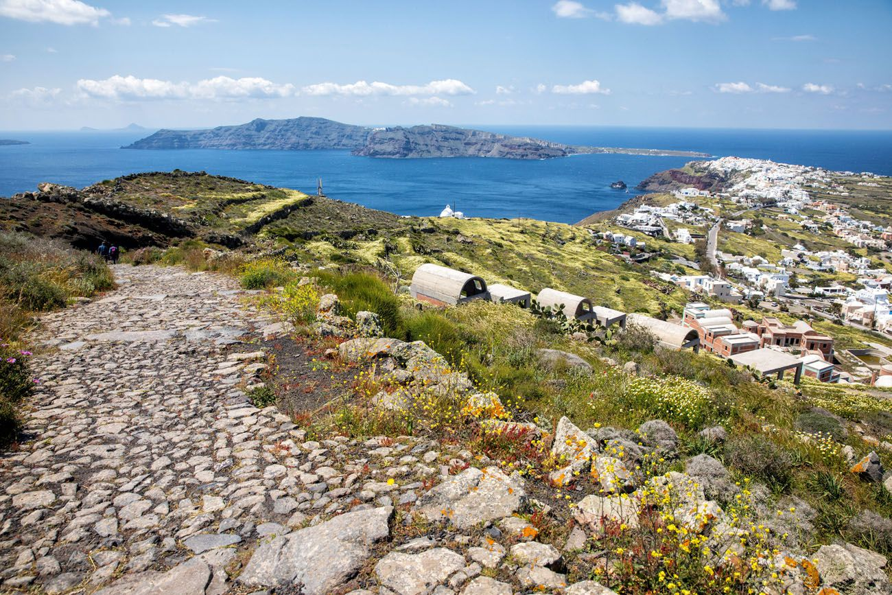 Hike Santorini
