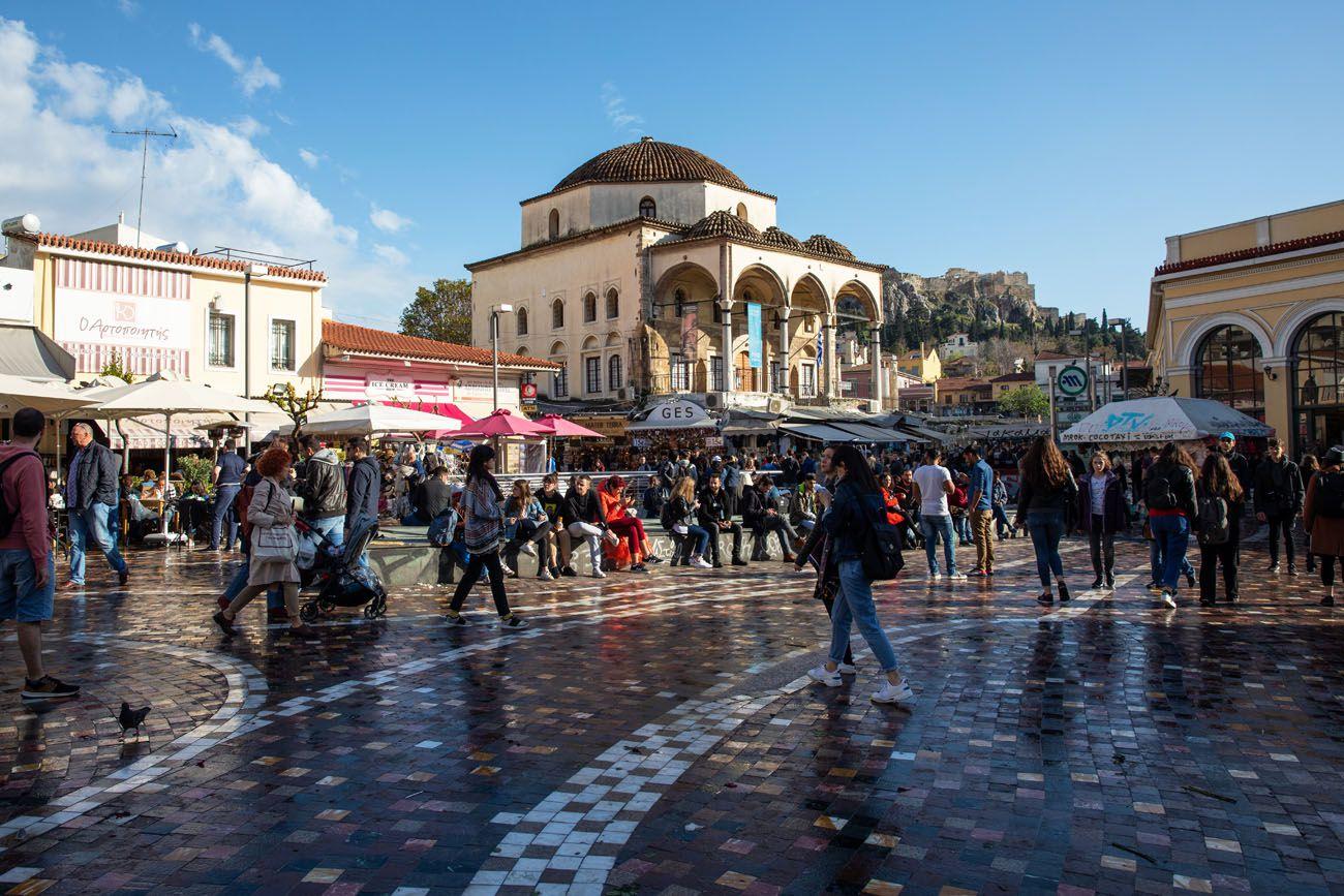 Monastiraki-Square-1.jpg.optimal ▷ Atenas Bucket List: 20 mejores cosas que hacer en Atenas, Grecia