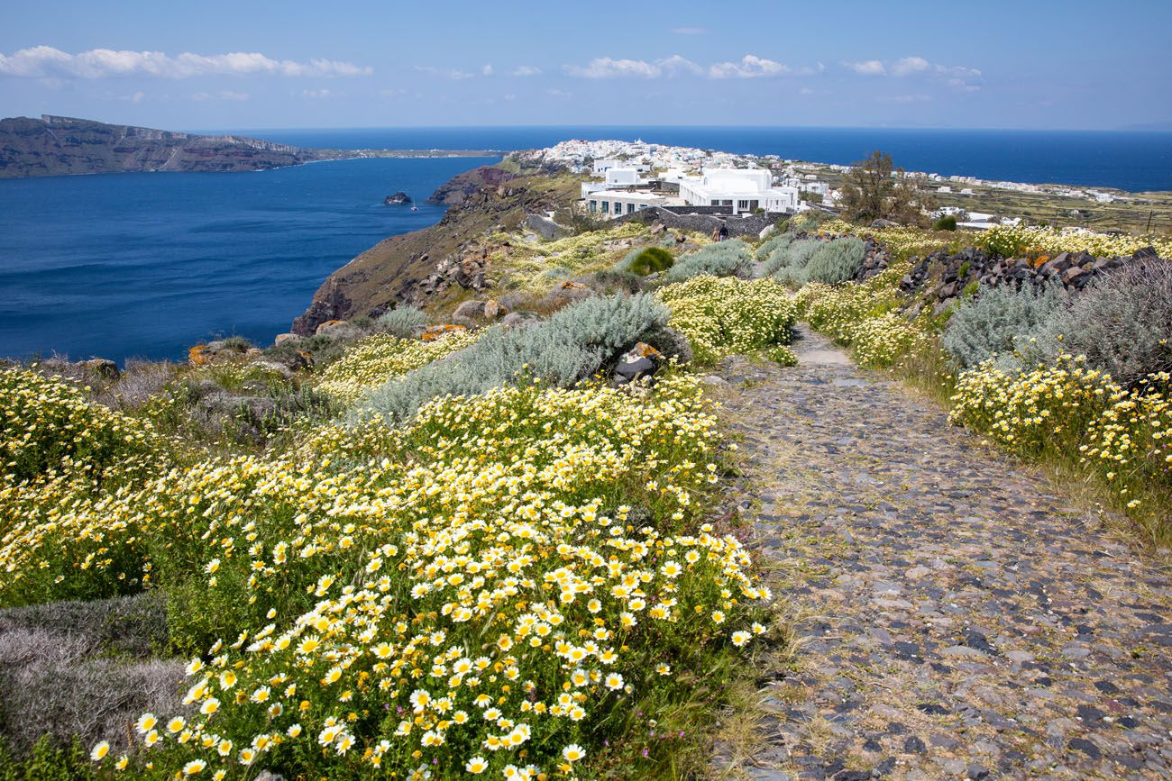 Oia to Fira Trail