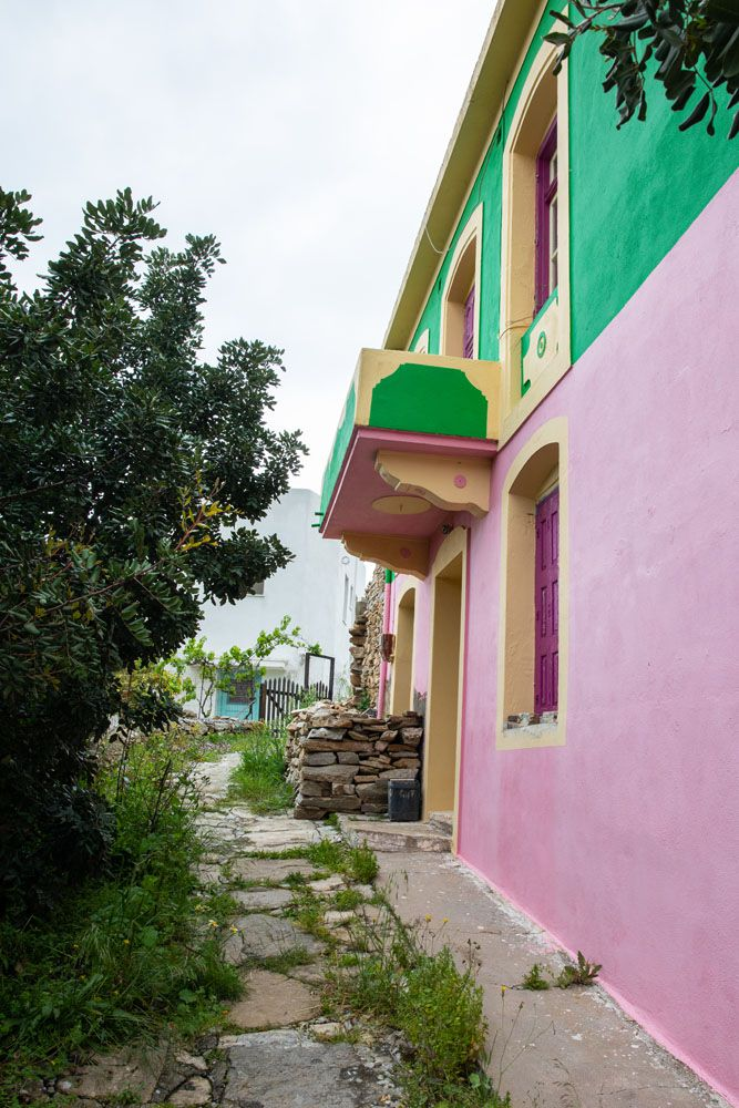 Pink Building in Mili