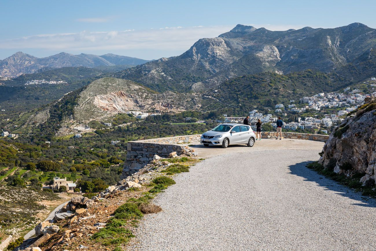 Renting a Car in Naxos