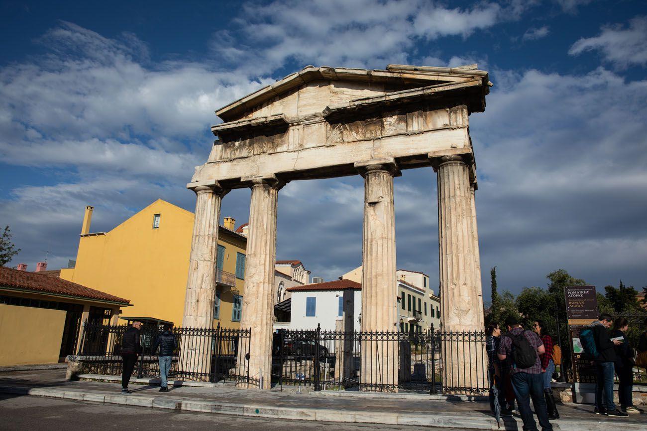 Roman-Agora.jpg.optimal ▷ Atenas Bucket List: 20 mejores cosas que hacer en Atenas, Grecia