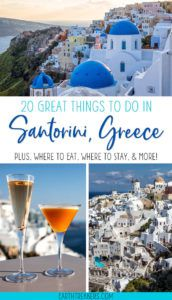 Santorini Greece Best Things To Do
