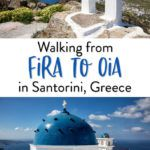 Santorini Greece Hike Fira to Oia