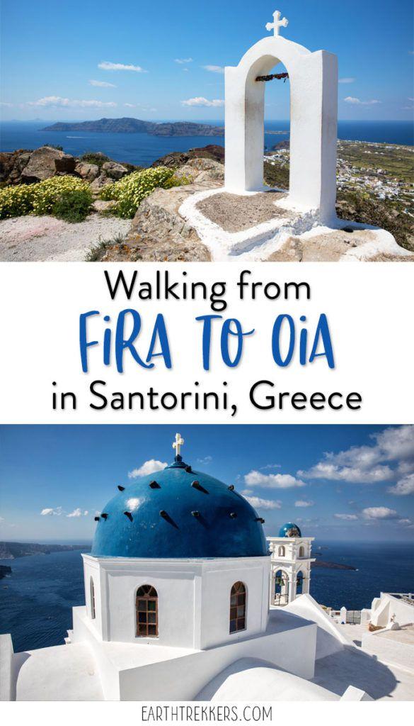 Santorini Greece Hike Fira to Oia