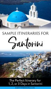 Santorini Itinerary and Travel Guide