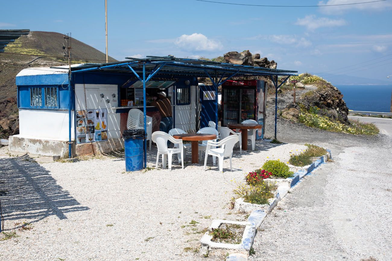 Santorini Snack Bar