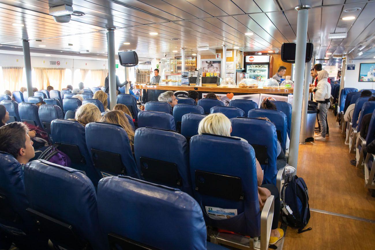 Standard Ferry Seats