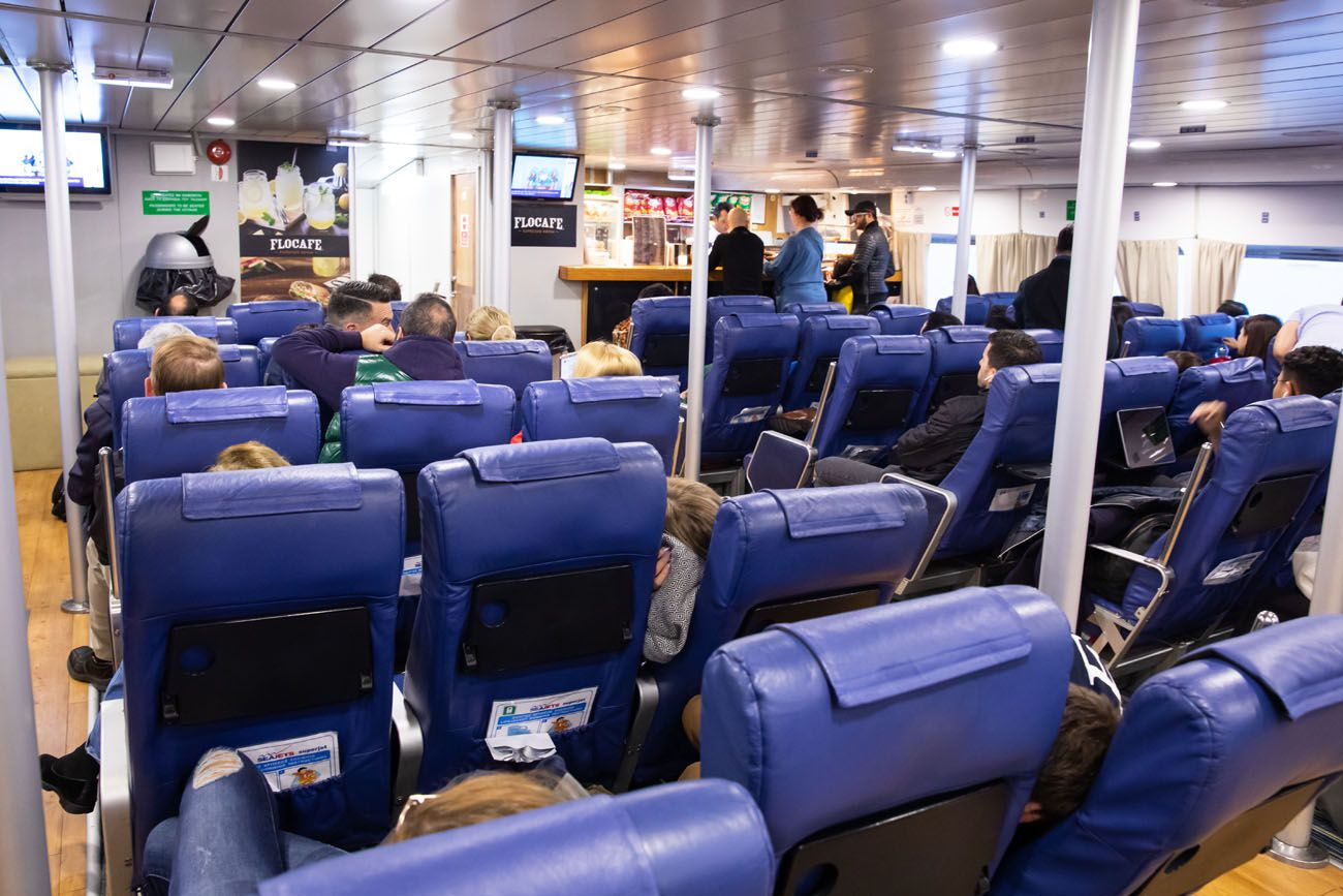 VIP Ferry Seats Greece Travel Tips