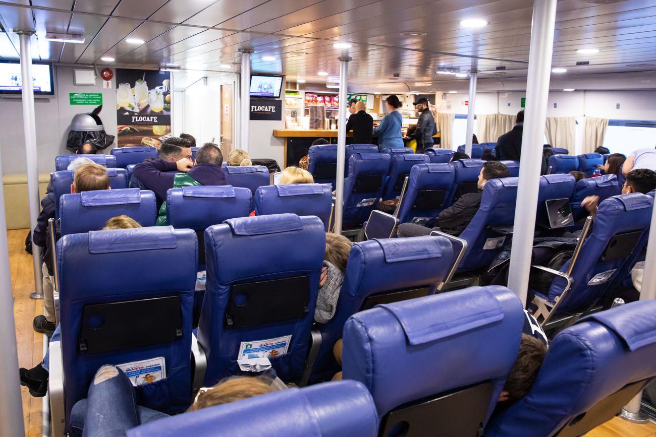 VIP Ferry Seats