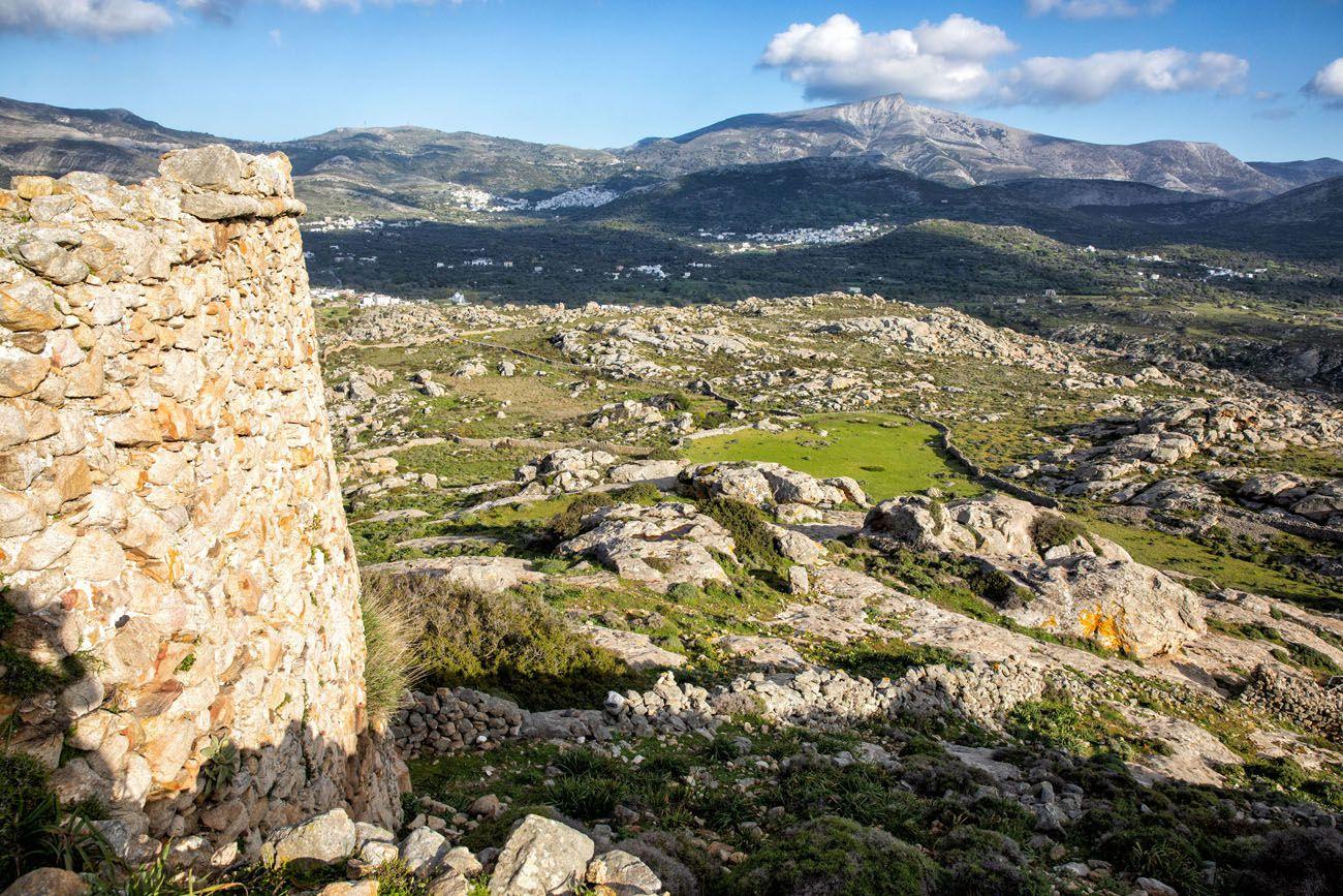 View of Naxos