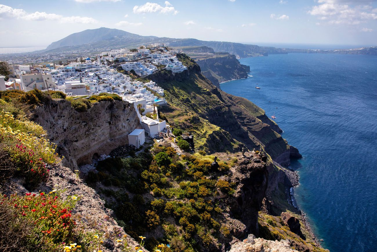 Walking Oia to Fira