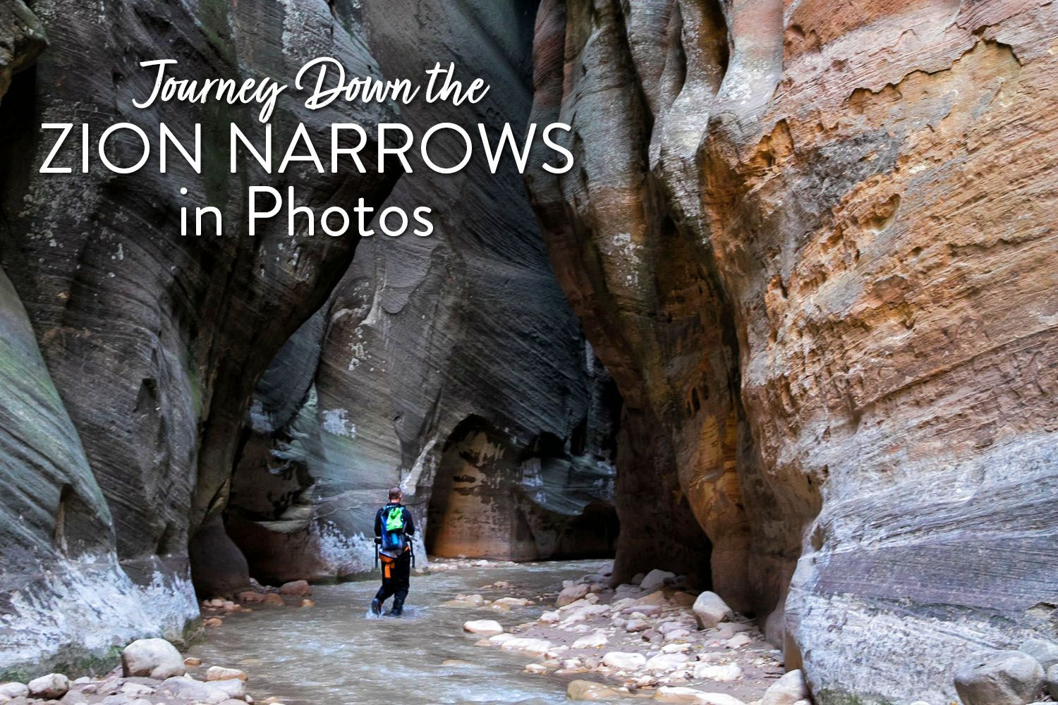Zion Narrows in Photos