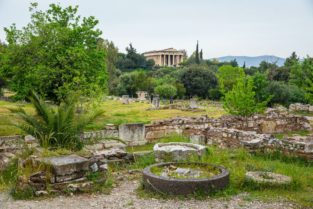 Ancient Agora Athens Greece itinerary