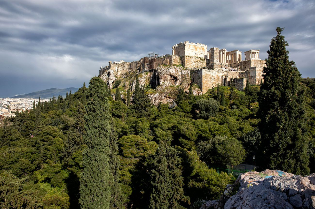 Areopagus Hill Greece itinerary