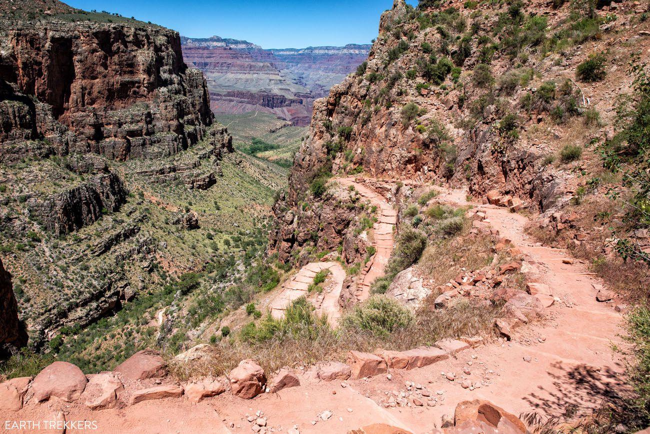 Bright Angel Trail Grand Canyon rim-to-rim