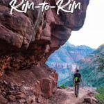 Grand Canyon Hike Rim-to-Rim