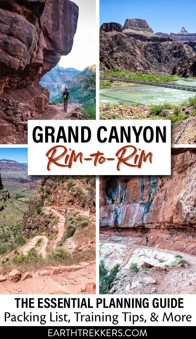 Grand Canyon Rim-to-Rim Hike
