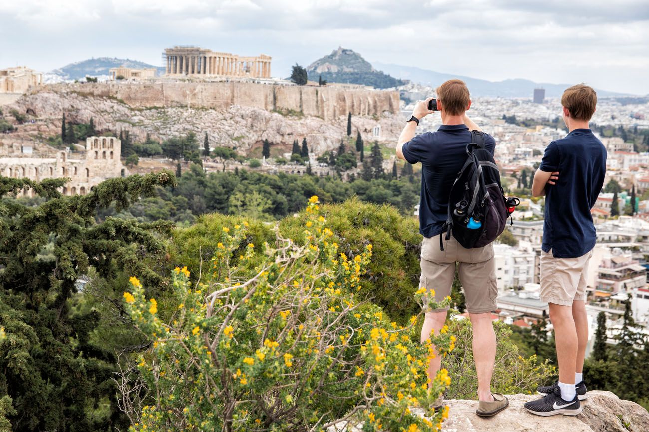 Photographing Athens Greece itinerary