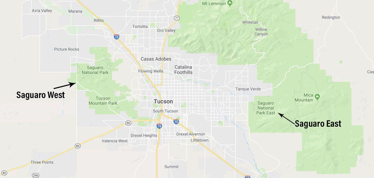 Saguaro Map