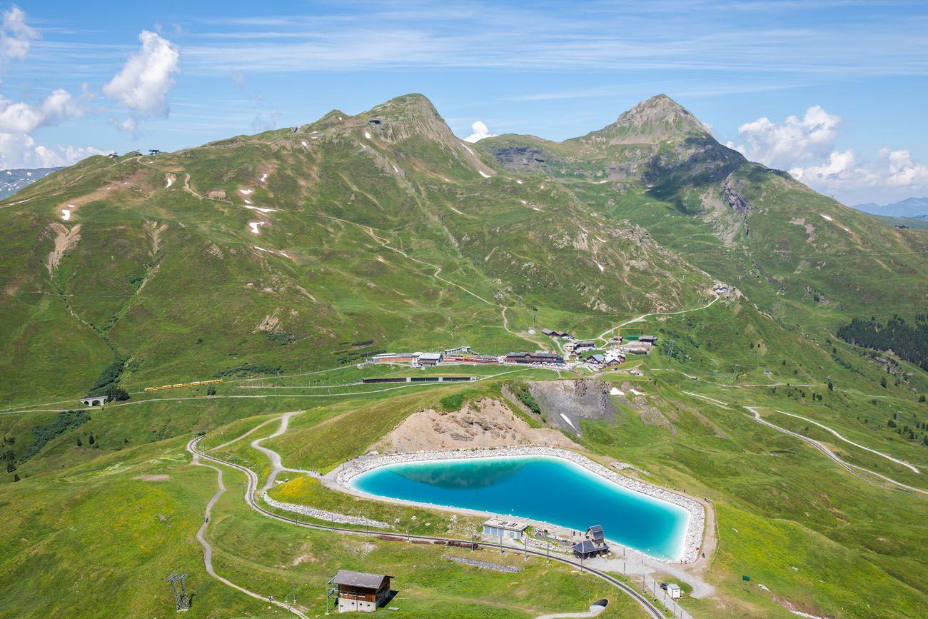 A View of Kleine Scheidegg
