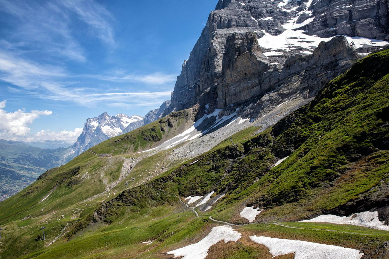 Eiger Trail View