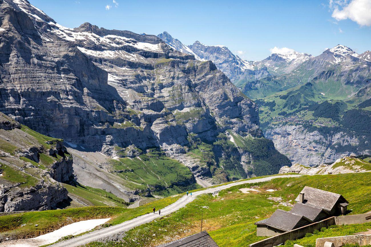Eigergletscher View