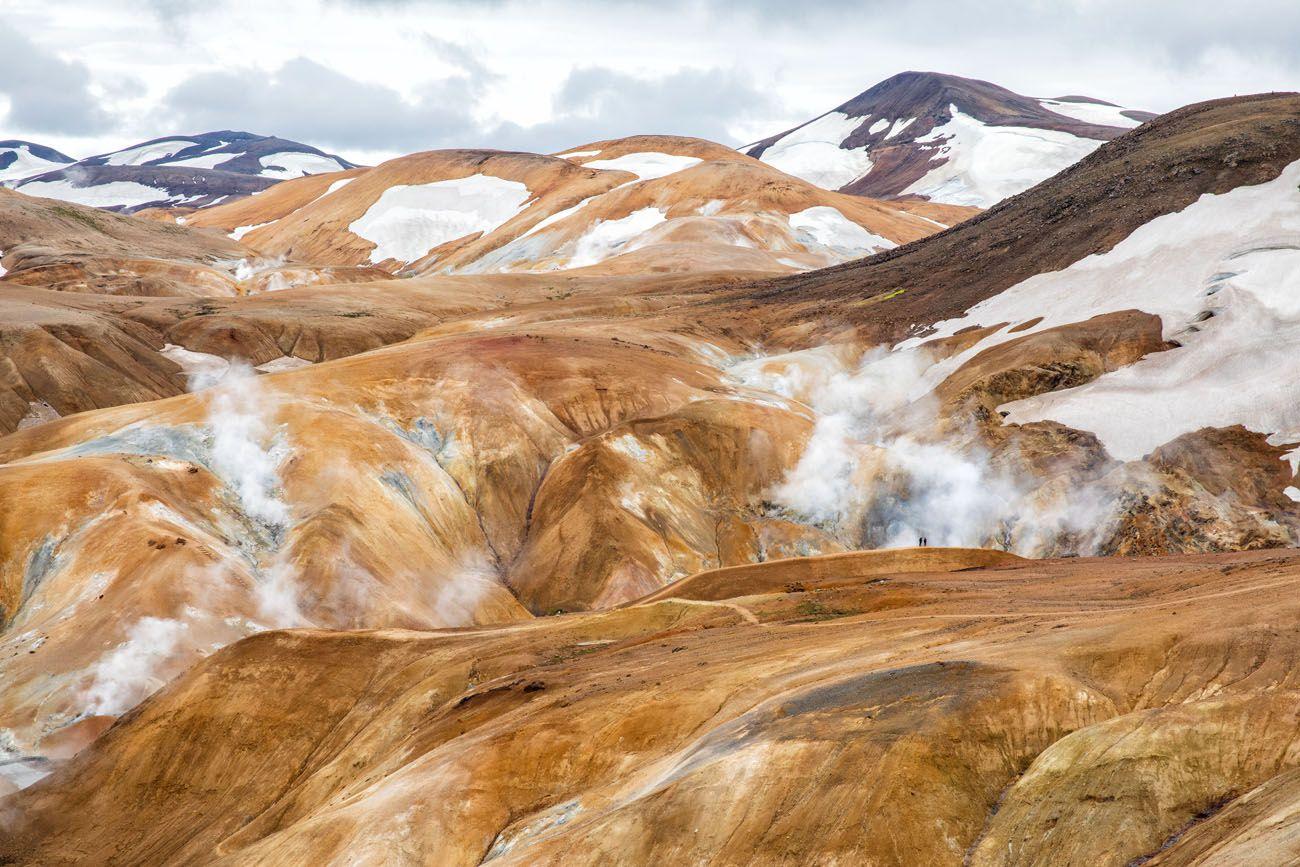 Hike Hveradalir Geothermal Area