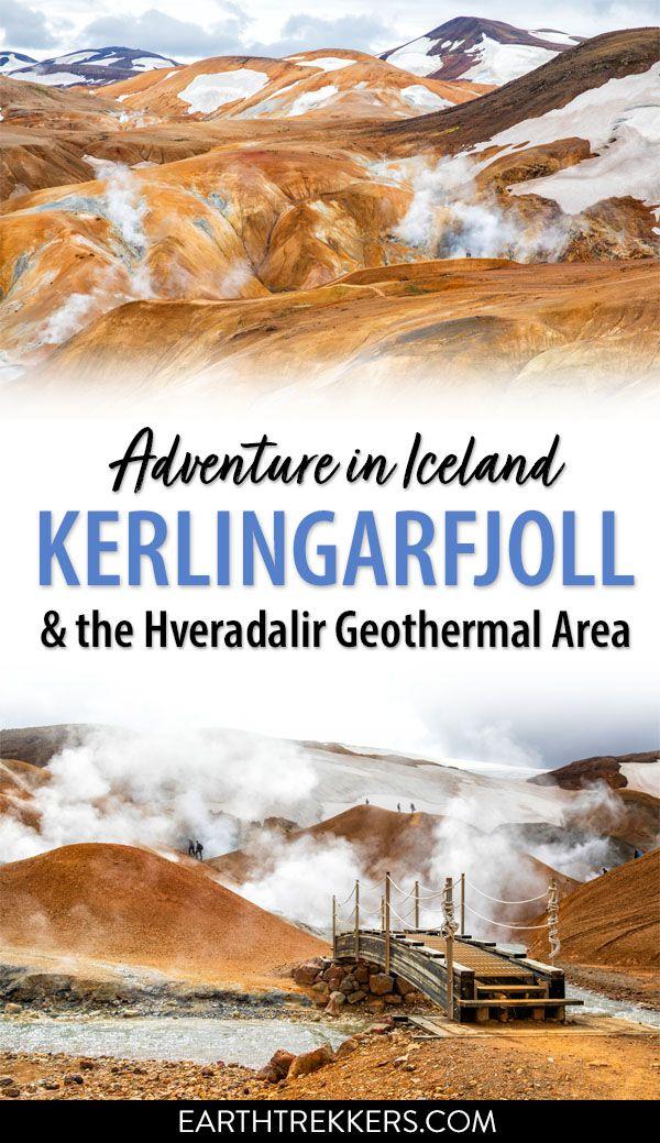 Hike Kerlingarfjoll and Hveradalir Iceland