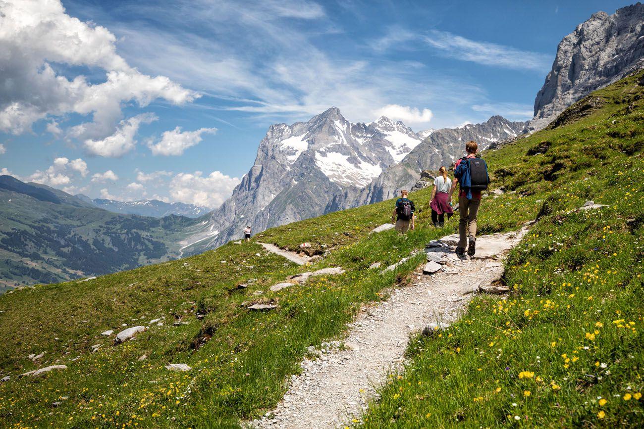 Hike in Jungfrau