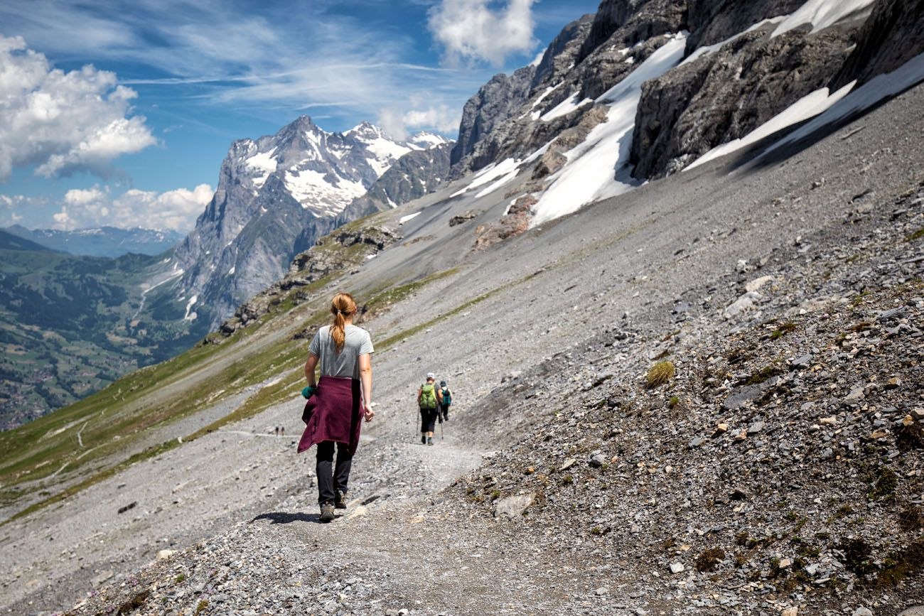 Hike the Eiger Trail