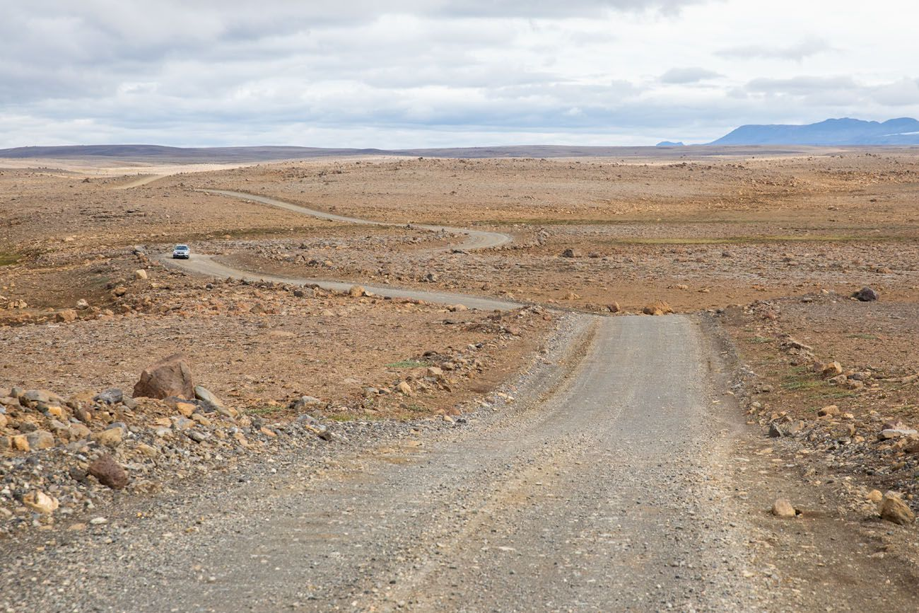 Iceland F Road