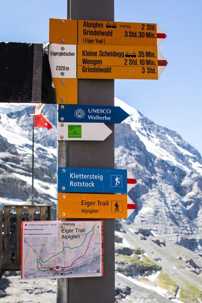 Trail-Sign.jpg.optimal ▷ Cómo caminar por el sendero Eiger en el Oberland bernés, Suiza